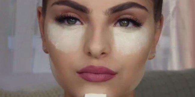 Cette-femme-met-du-bicarbonate-de-soude-sous-ses-yeux-et-le-resultat-est-incroyable